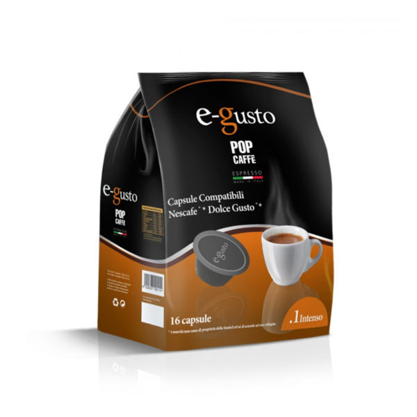Compatibile dolce gusto pop caffè intenso