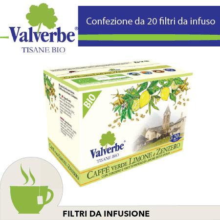 caffe verde limone e zenzero