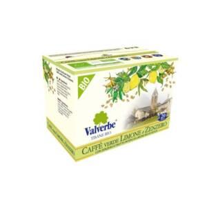 tisana caffe verde zenzero limone