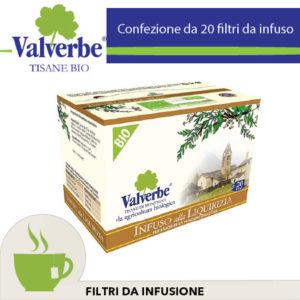 Infuso Tisana Bio Valverbe Liquirizia
