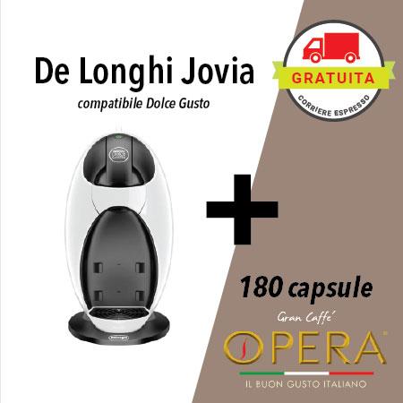 de longhi jovia + 180 capsule