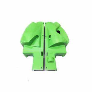 scocca verde chiaro