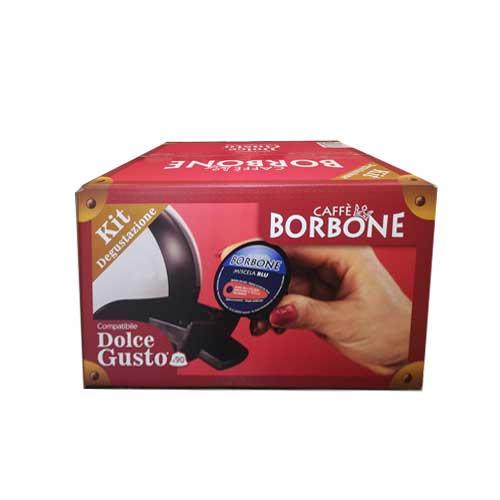 Capsule Dolce Gusto Caffè Borbone miscele miste