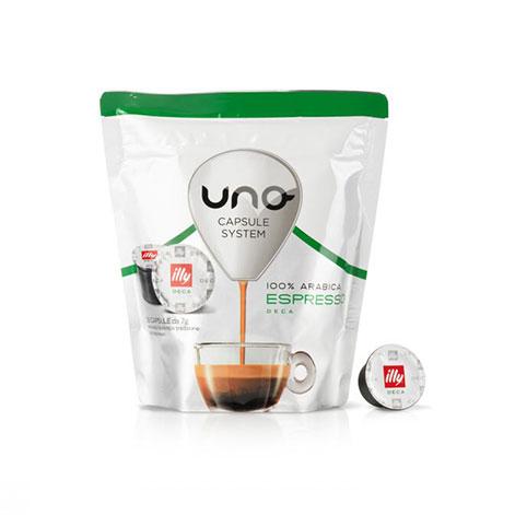 capsule illy espresso deca uno system