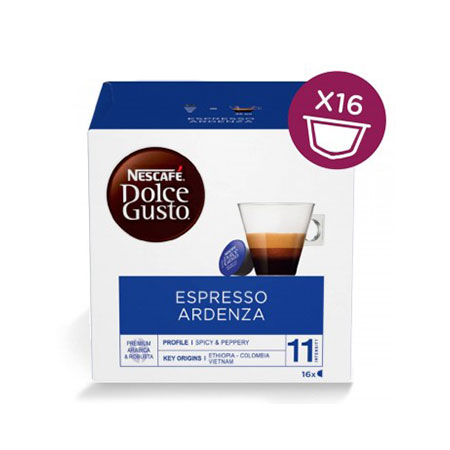 capsule nescafè dolce gusto espresso ardenza