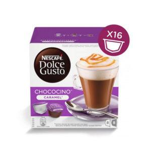 capsule nescafè dolce gusto chococino caramel