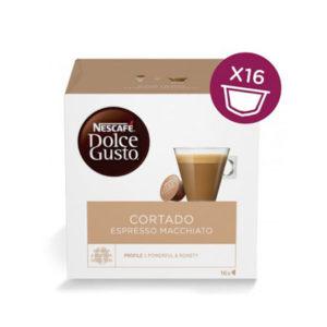capsule nescafè dolce gusto cortado espresso macchiato