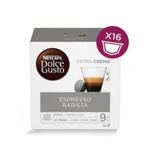 capsule nescafè dolce gusto espresso barista