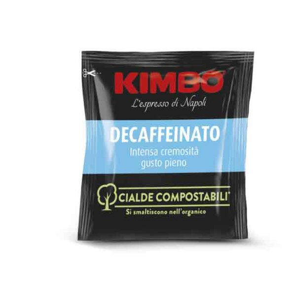 cialda kimbo decaffeinato