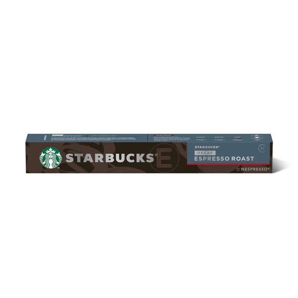 starbucks decaf nespresso